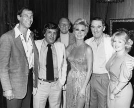 Mitzi Gaynor and Hugh Pickett with group