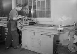 Cleland Kent Ltd., Cambie St. - proofing press