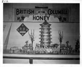 British Columbia Honey display