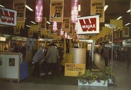 Pacific Industrial Equipment and Materials Handling Show - Wajax display booth