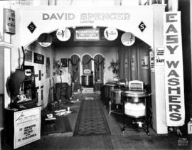 David Spencer display of household appliances