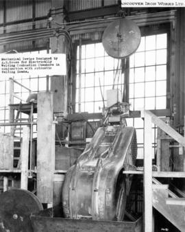 Vancouver Iron Works Limited - Mechanical Device Designed by A.E. House for Electrically Welding ...
