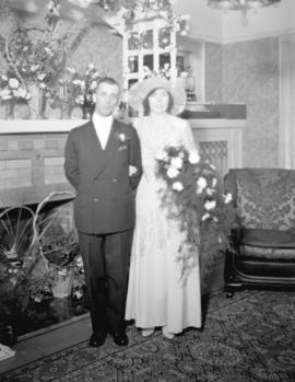 [Unidentified] Couple at Wedding