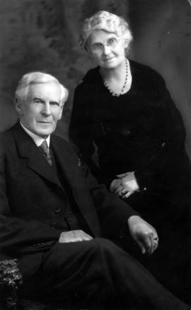 Rev. and Mrs. J.C. Henderson, veteran pastor and Good Citizen (1939) of Vancouver