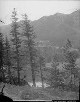 C.P.R. Hotel and Sulphur Mountain, Ca. National Park