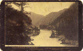 [Alexandra] Suspension bridge at Spuzzum, B.C., Fraser Canyon