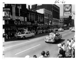 P.N.E. Program prize car in 1956 P.N.E. Opening Day Parade