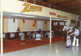 Zenith display of televisions