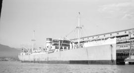 M.S. Silverwalnut [at dock]