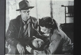 "Alan Ladd, Iris Wong and Loretta Young in ""China"""