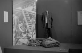 Artifacts on display at the Saltwater City exhibit