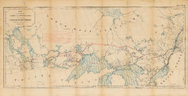 Map to accompany the report on the Exploration Survey of the Canadian Pacific Railway