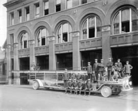 [VFD] Firehall no. 2 ladder wagon