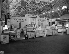Wosk's display of McClary appliances
