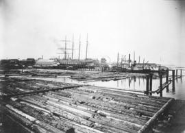[View of B.C. Marine Railways Company near the foot of Victoria Drive]