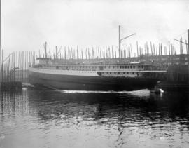 "[Launching of the C.P.R. ""Princess Charlotte""]"