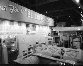 Canada's First Building Centre display of various companies' products