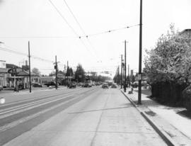 [Granville St. at 41st Ave, looking south]