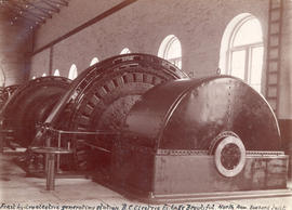 First hydroelectric generating station - B.C. Electric Railway Company, Lake Beautiful, North Arm...