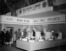 Hudson's Bay Co. display of household appliances