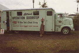 Operation Doorstep tuberculosis skin test and chest x-ray vehicle