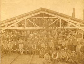 [The crew of the Hastings Sawmill]