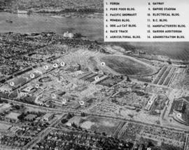 Pacific National Exhibition aerial view - Aug. 29, 1959