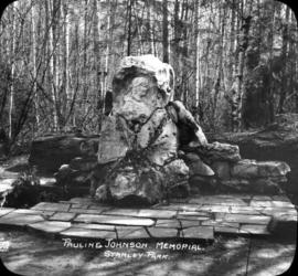 Pauline Johnson Memorial Stanley Park