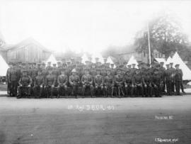 [group photograph of] 6th Regiment D.C.O.R.