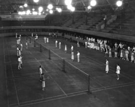 Badminton Courts in Horseshow Building [1900 West Georgia Street]