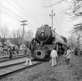 Royal Hudson Train in Kerrisdale