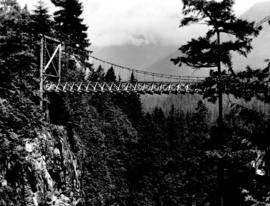 [Upper Capilano Canyon bridge]