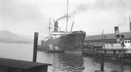 S.S. Genoa Maru [at dock]