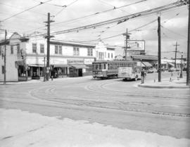 [View of the 3600 block of West Broadway from Alma Street]