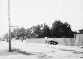 [View of the north side of Hastings Street at Howe Street]
