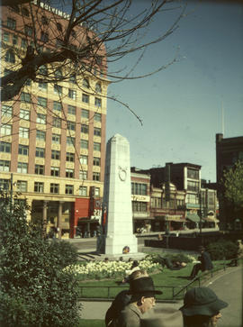 Victory Square and Cenotaph