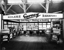 Gurney Co. display of stoves