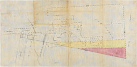 Plan showing foreshore applied for by the British Columbia Mills Timber and Training Company Limited