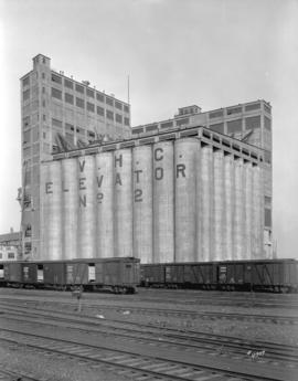 [Vancouver Harbour Commission grain elevator number two]