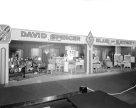 David Spencer Limited display at Canadian Pacific Exhibition