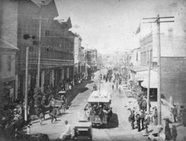 Procession July 1st, 1890 Cordova Street