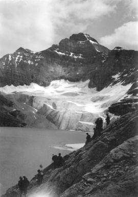 [View of Mount Biddle, Biddle Glacier and part of Lake McArthur]