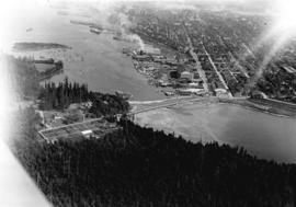 Showing Entrance to Stanley Park looking East