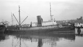S.S. Edward J. Coyle [at dock]