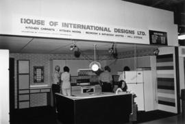 House of International Designs display of model kitchen