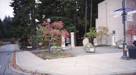 C.K. Choi Memorial Bell at the University of British Columbia