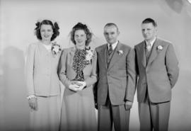E. Lipsett (Mr. and Mrs., wedding party)