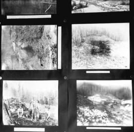 [Various scenes regarding the construction of the Coquitlam Dam]