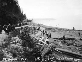 29 June 1912 6th and 72nd [Regiments at] Malahat
