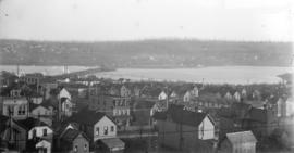[View of downtown and Fairview, looking south from Hotel Vancouver]